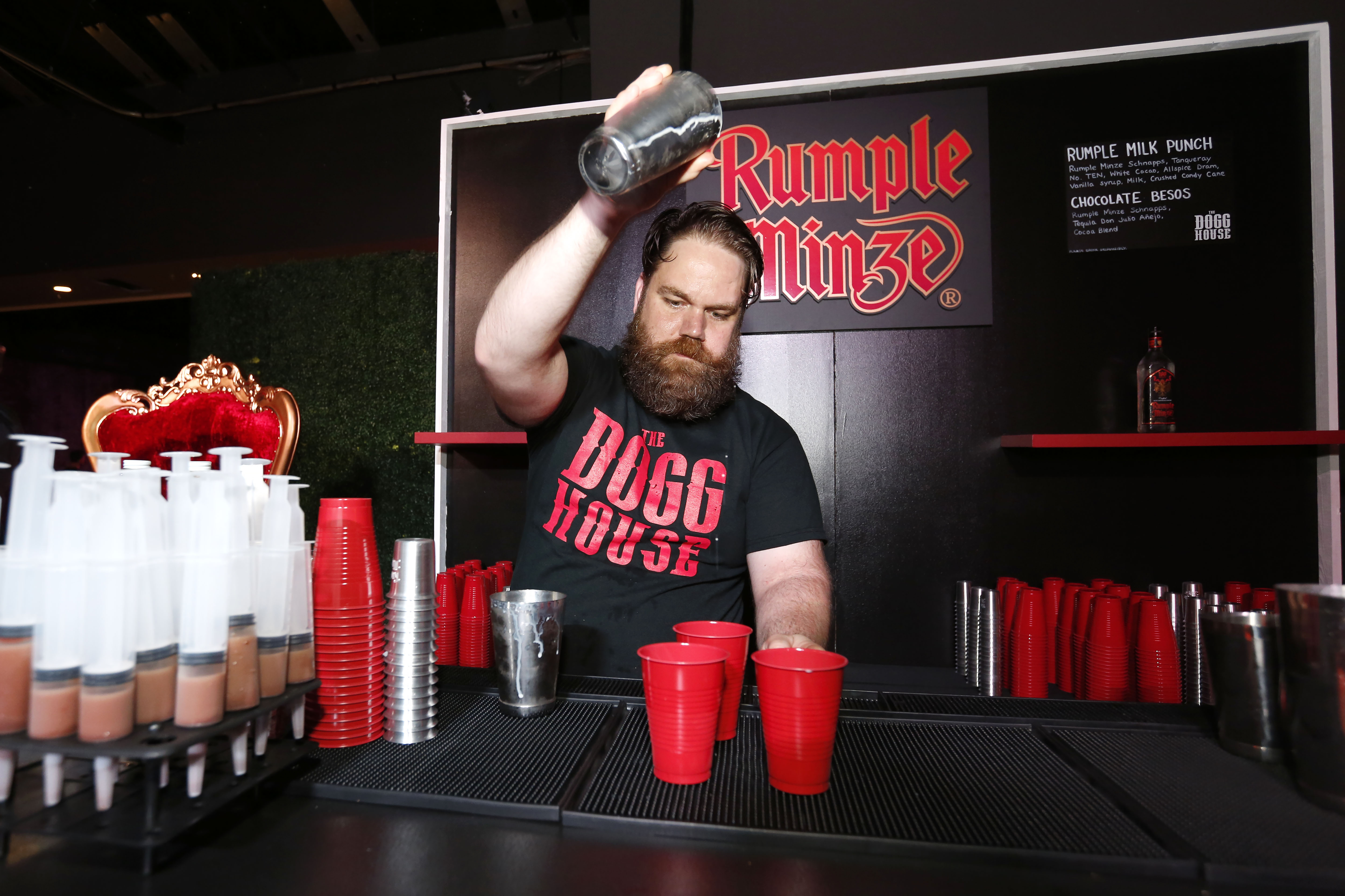 NEW ORLEANS, LA - JULY 21: Signature cocktails served at The Dogg House during Tales Of The Cocktail on July 21, 2017 in New Orleans, Louisiana. (Photo by Tyler  Kaufman/Getty Images for Diageo) *** Local Caption ***